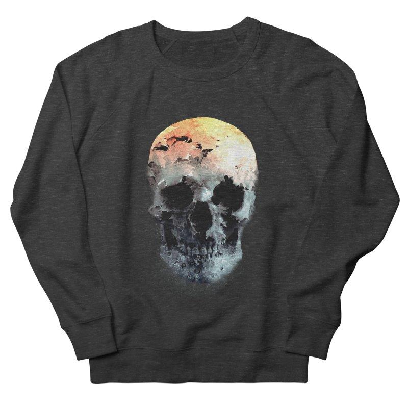 Autumn Skull Women's French Terry Sweatshirt by daniac's Artist Shop