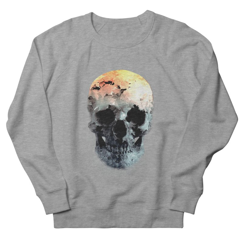 Autumn Skull Men's French Terry Sweatshirt by daniac's Artist Shop
