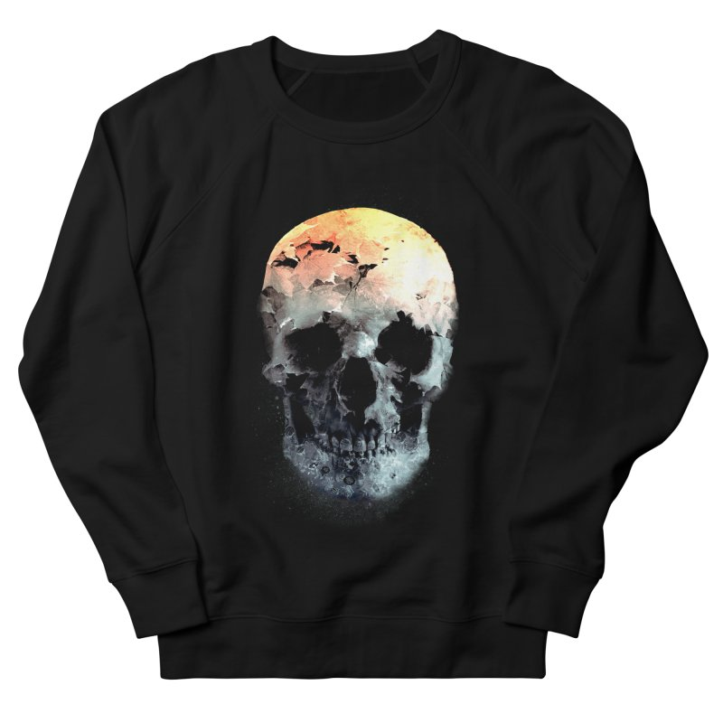 Autumn Skull Men's French Terry Sweatshirt by daniac's Artist Shop