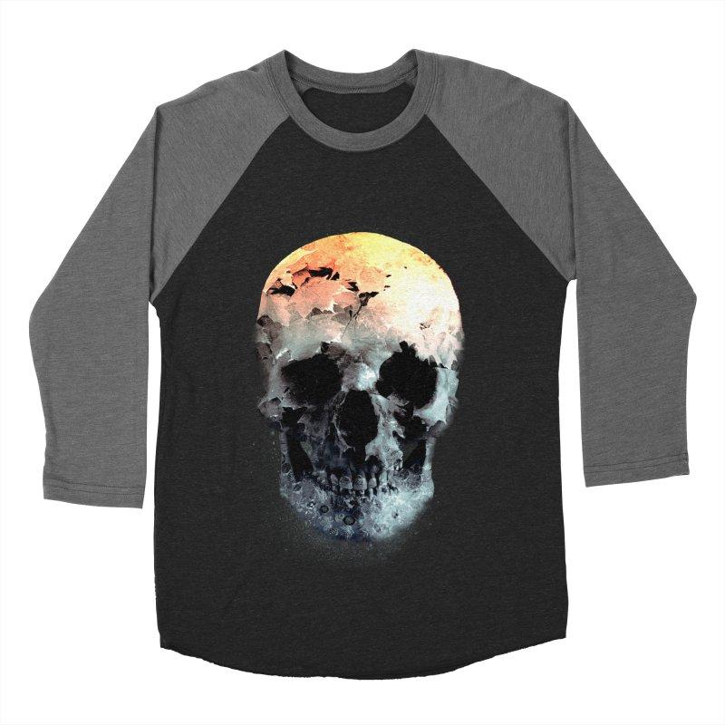 Autumn Skull Men's Baseball Triblend Longsleeve T-Shirt by daniac's Artist Shop