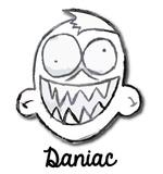 daniac's Artist Shop Logo