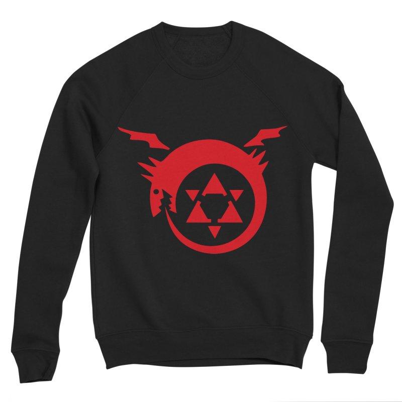 Homunculus Men's Sponge Fleece Sweatshirt by Synner Design