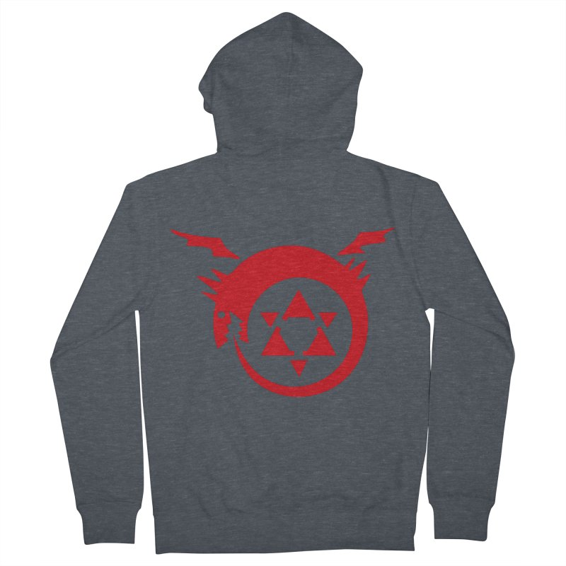 Homunculus Women's French Terry Zip-Up Hoody by Synner Design