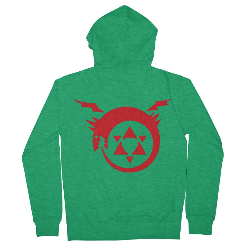 Homunculus Men's French Terry Zip-Up Hoody by Synner Design