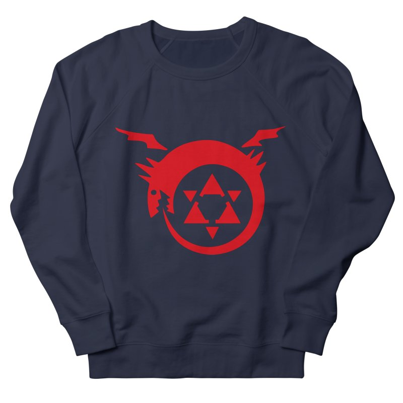 Homunculus Men's French Terry Sweatshirt by Synner Design