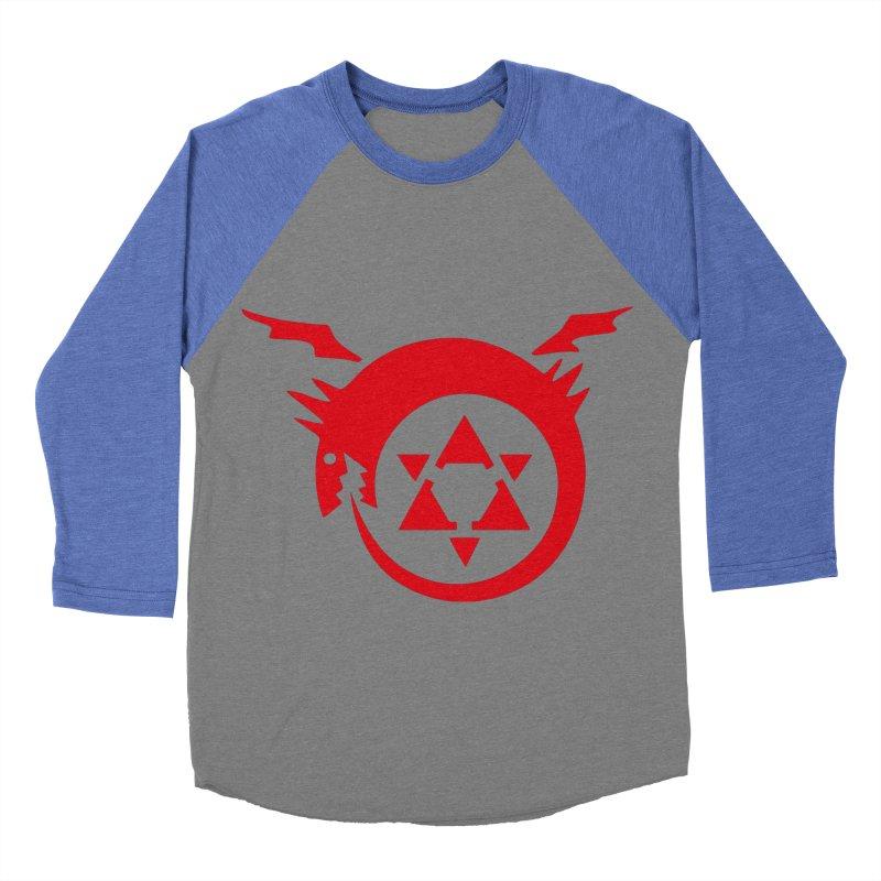 Homunculus Women's Baseball Triblend Longsleeve T-Shirt by Synner Design