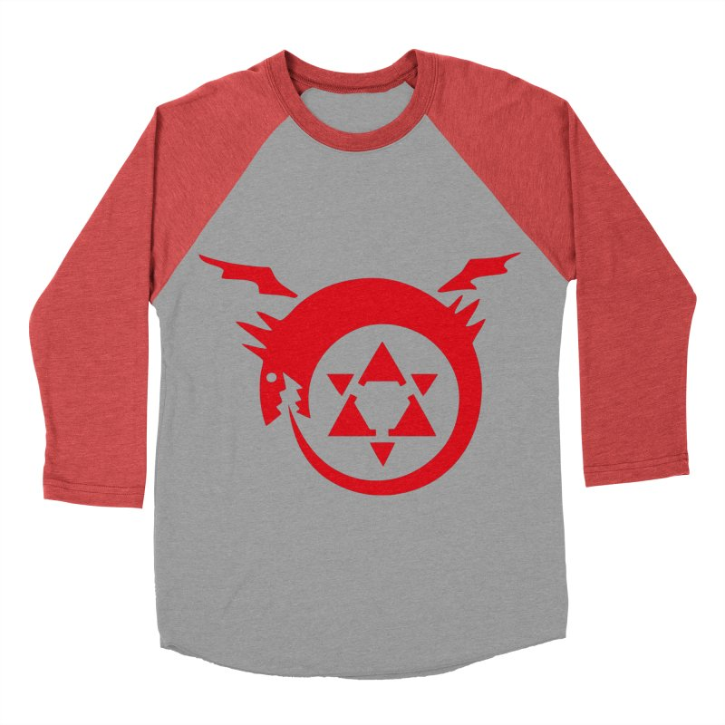 Homunculus Women's Baseball Triblend Longsleeve T-Shirt by Synner Design