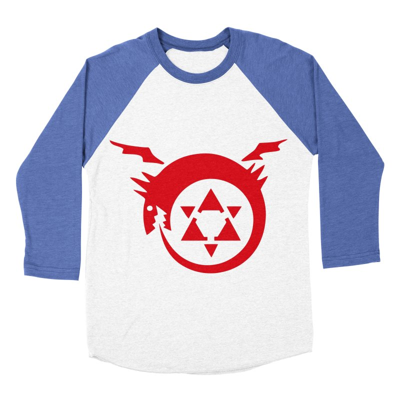 Homunculus Men's Baseball Triblend Longsleeve T-Shirt by Synner Design