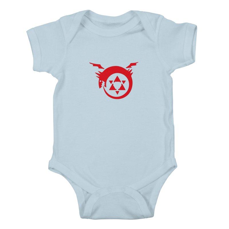 Homunculus Kids Baby Bodysuit by Synner Design