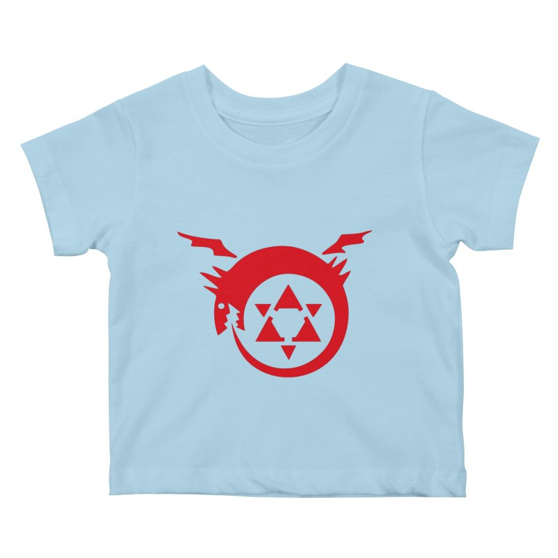 Homunculus Kids Baby T-Shirt by Synner Design