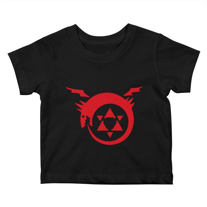 Homunculus Kids Baby T-Shirt by Synner Design
