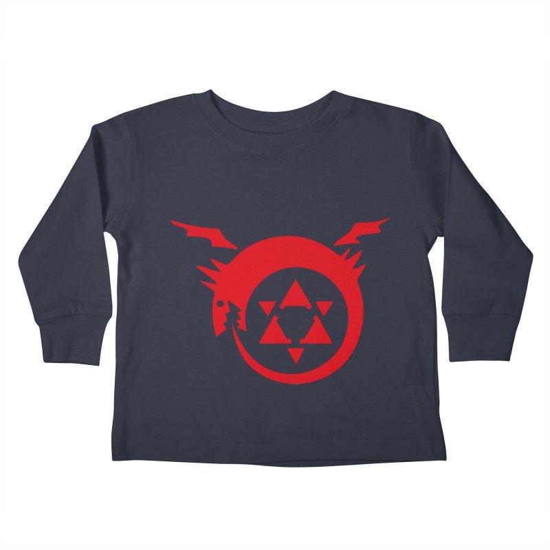 Homunculus Kids Toddler Longsleeve T-Shirt by Synner Design