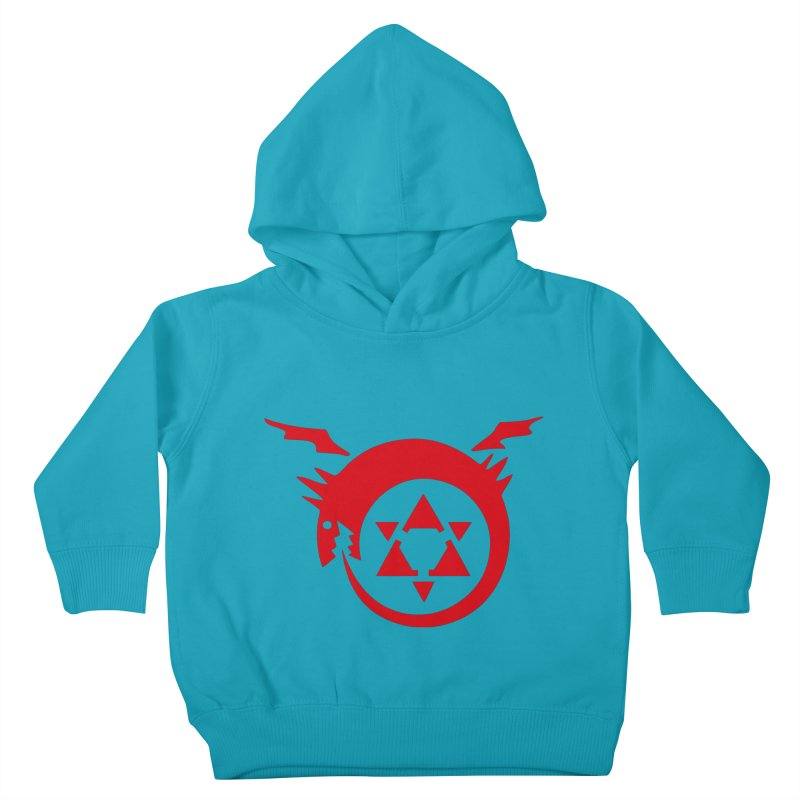 Homunculus Kids Toddler Pullover Hoody by Synner Design