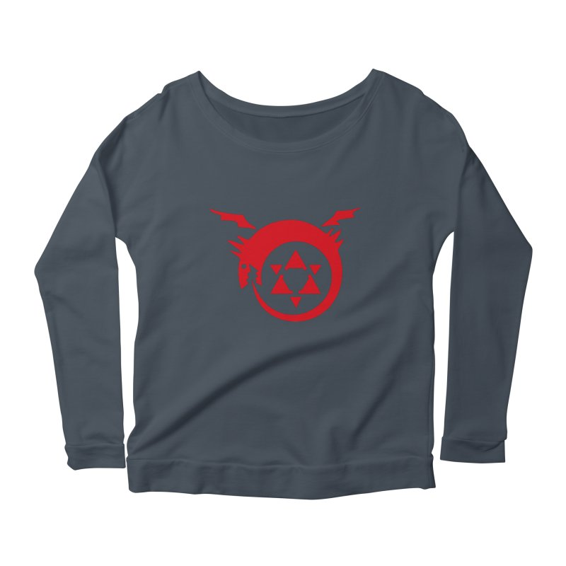 Homunculus Women's Scoop Neck Longsleeve T-Shirt by Synner Design
