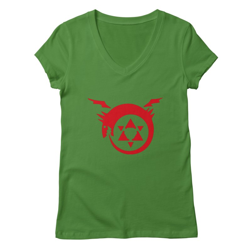 Homunculus Women's Regular V-Neck by Synner Design
