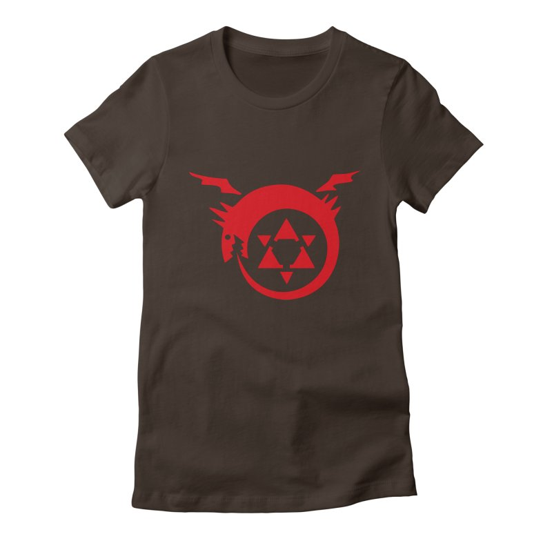 Homunculus Women's Fitted T-Shirt by Synner Design