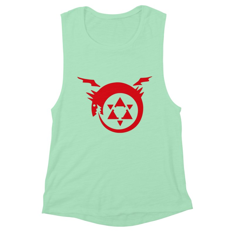 Homunculus Women's Muscle Tank by Synner Design