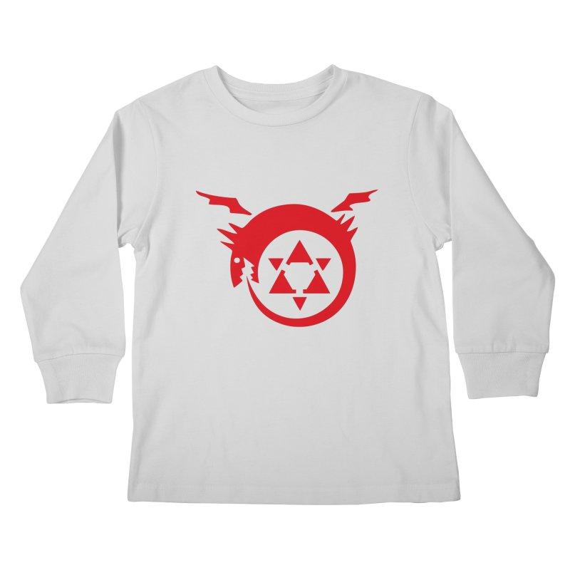 Homunculus Kids Longsleeve T-Shirt by Synner Design