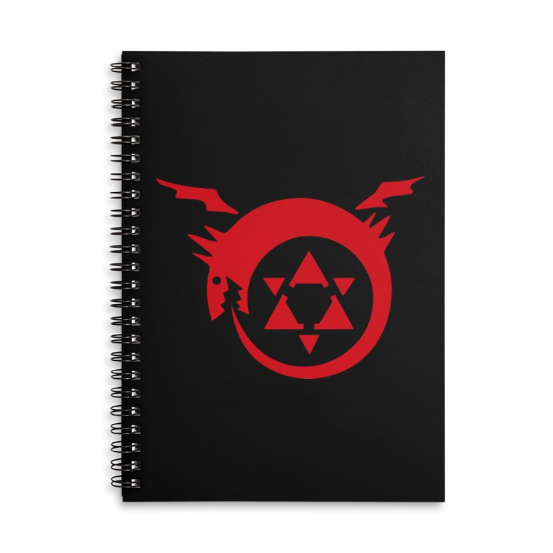 Homunculus Accessories Notebook by Synner Design