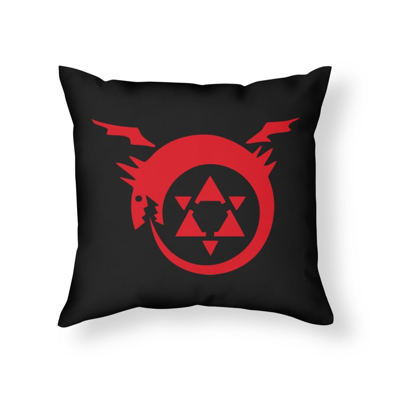 Homunculus Home Throw Pillow by Synner Design
