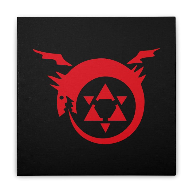 Homunculus Home Stretched Canvas by Synner Design