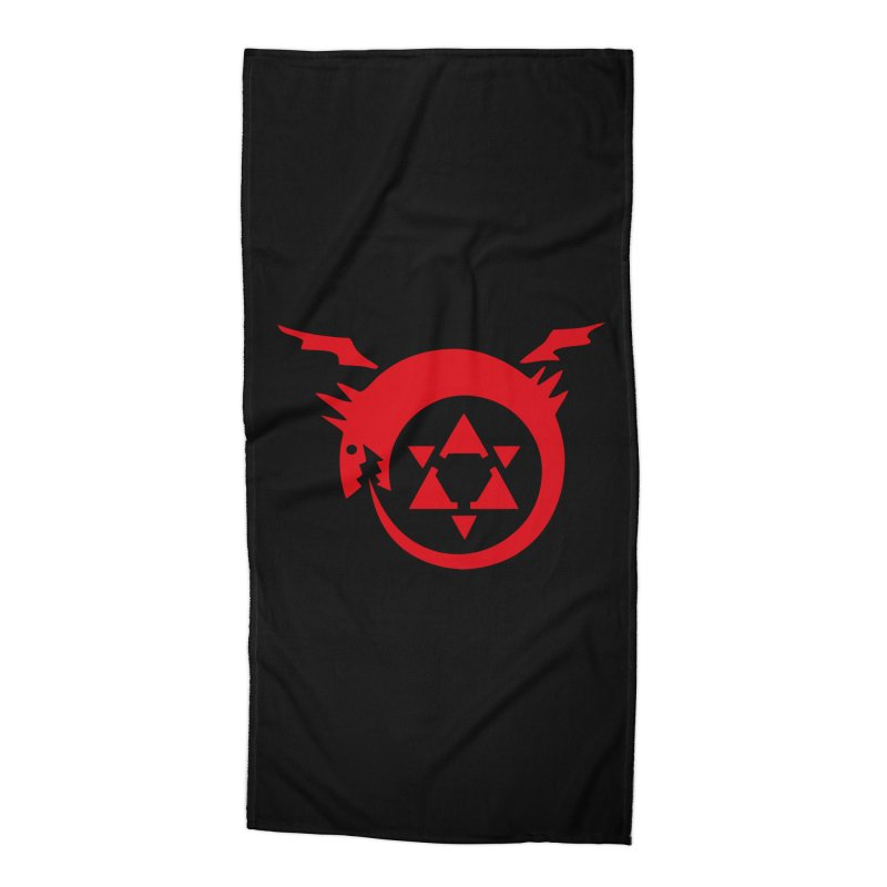Homunculus Accessories Beach Towel by Synner Design
