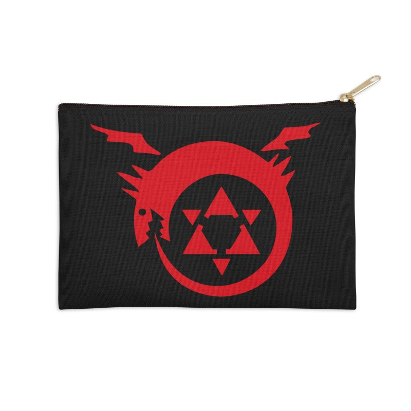Homunculus Accessories Zip Pouch by Synner Design