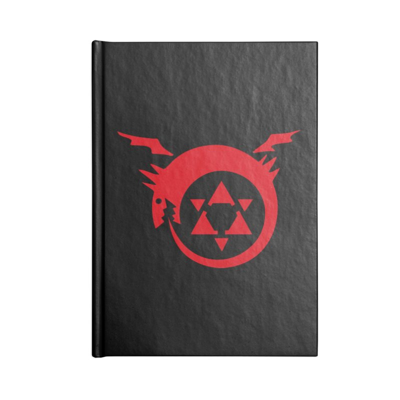 Homunculus Accessories Lined Journal Notebook by Synner Design