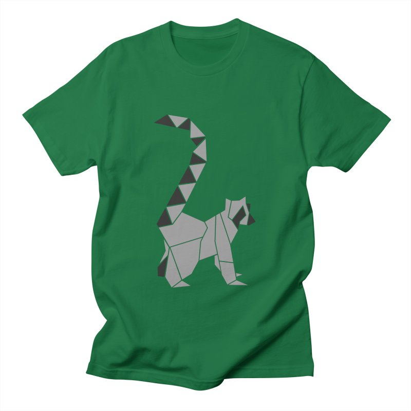 Lemur origami Men's T-Shirt by Synner Design