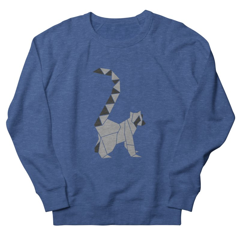 Lemur origami Men's Sweatshirt by Synner Design