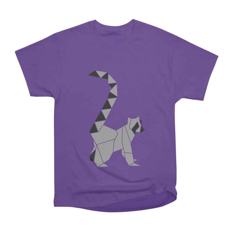 Lemur origami Men's Heavyweight T-Shirt by Synner Design