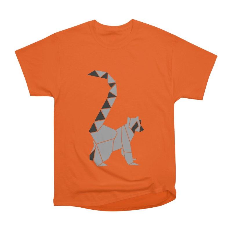 Lemur origami Women's T-Shirt by Synner Design