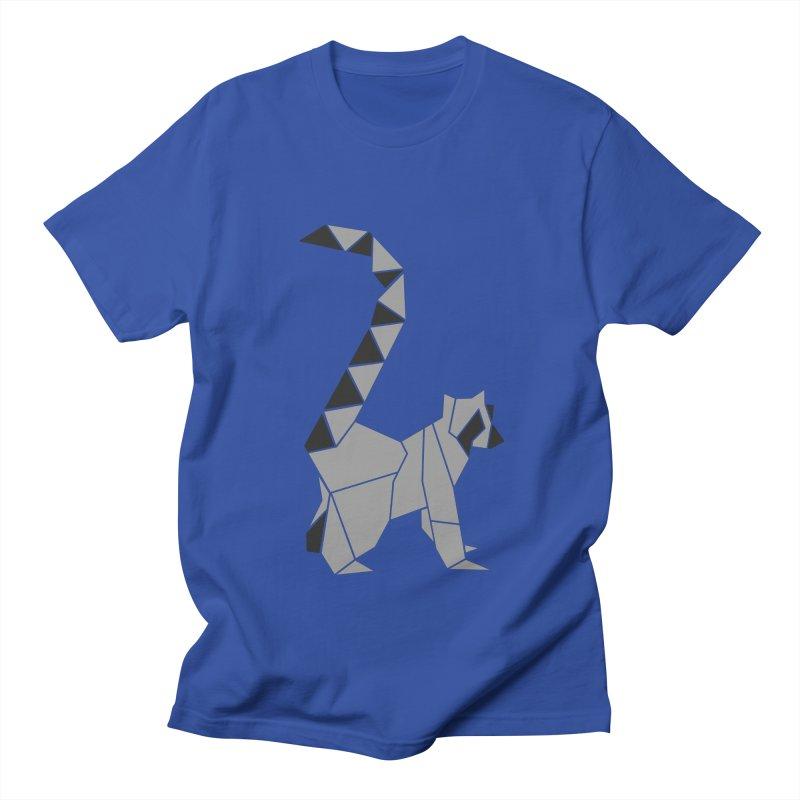 Lemur origami Women's Regular Unisex T-Shirt by Synner Design