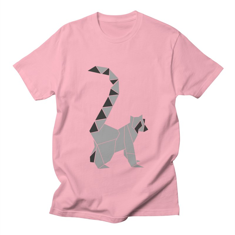 Lemur origami Women's Regular Unisex T-Shirt by Synner Design