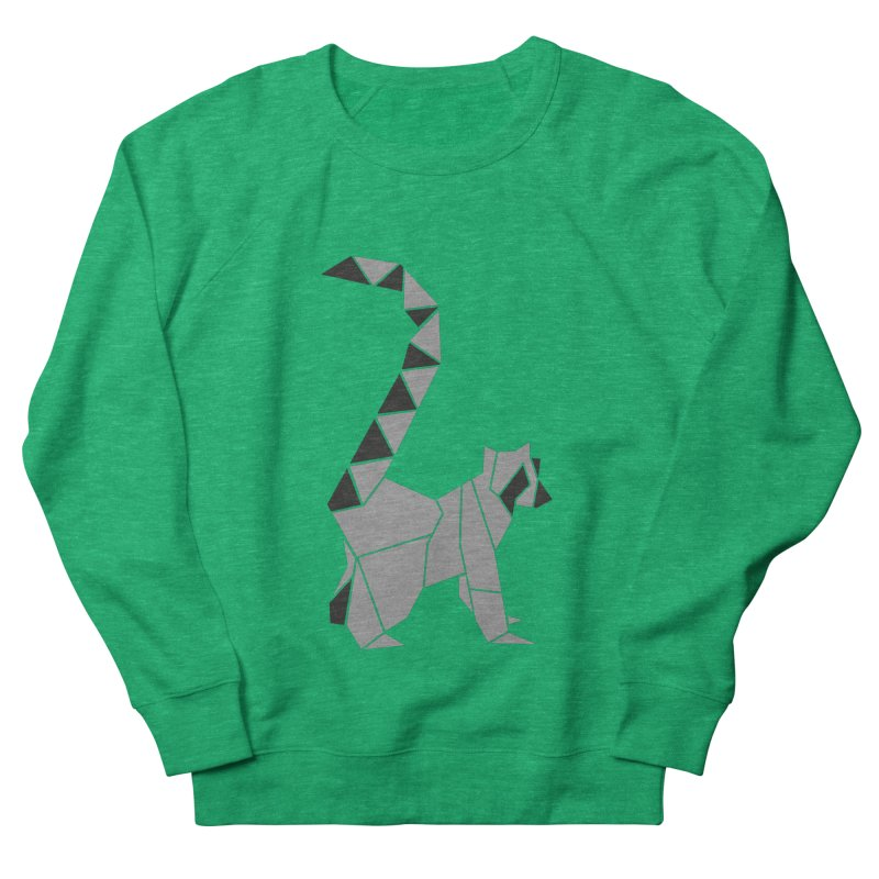 Lemur origami Women's Sweatshirt by Synner Design
