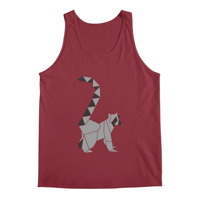 Lemur origami Men's Tank by Synner Design