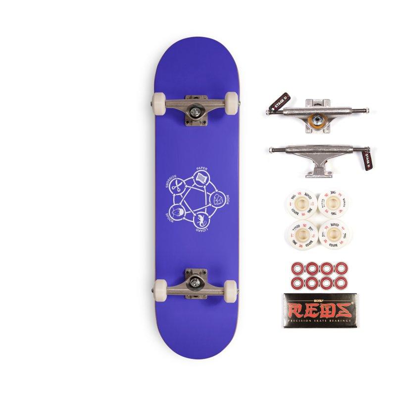 Rock Paper Scissors Lizard Spock Accessories Complete - Pro Skateboard by Synner Design
