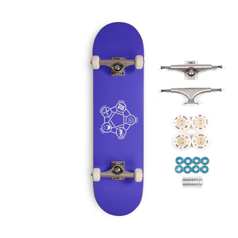 Rock Paper Scissors Lizard Spock Accessories Complete - Premium Skateboard by Synner Design