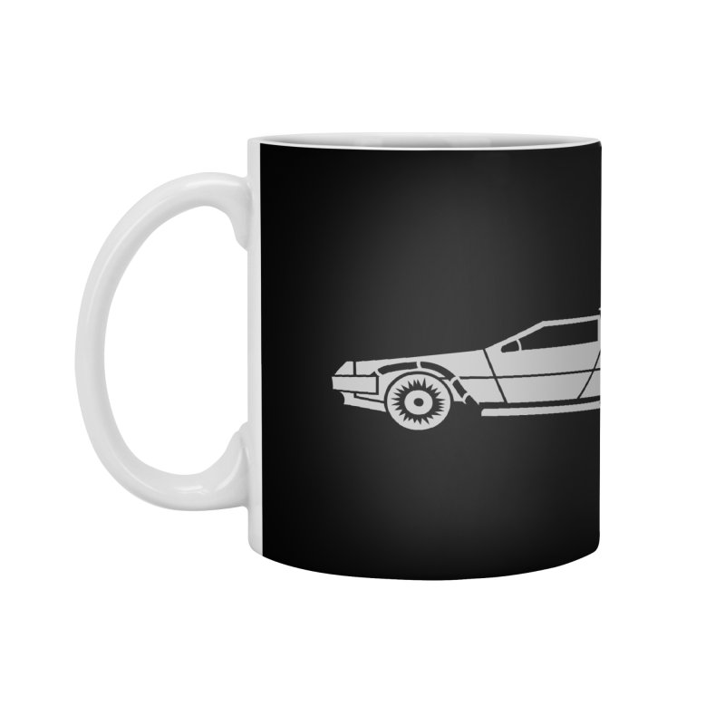 Delorean Accessories Standard Mug by Synner Design