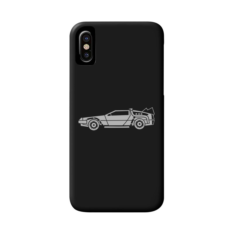 Delorean Accessories Phone Case by Synner Design