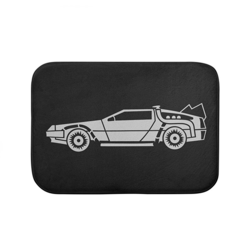 Delorean Home Bath Mat by Synner Design