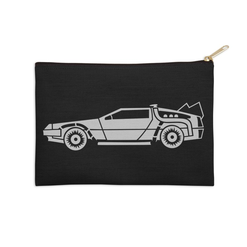 Delorean Accessories Zip Pouch by Synner Design