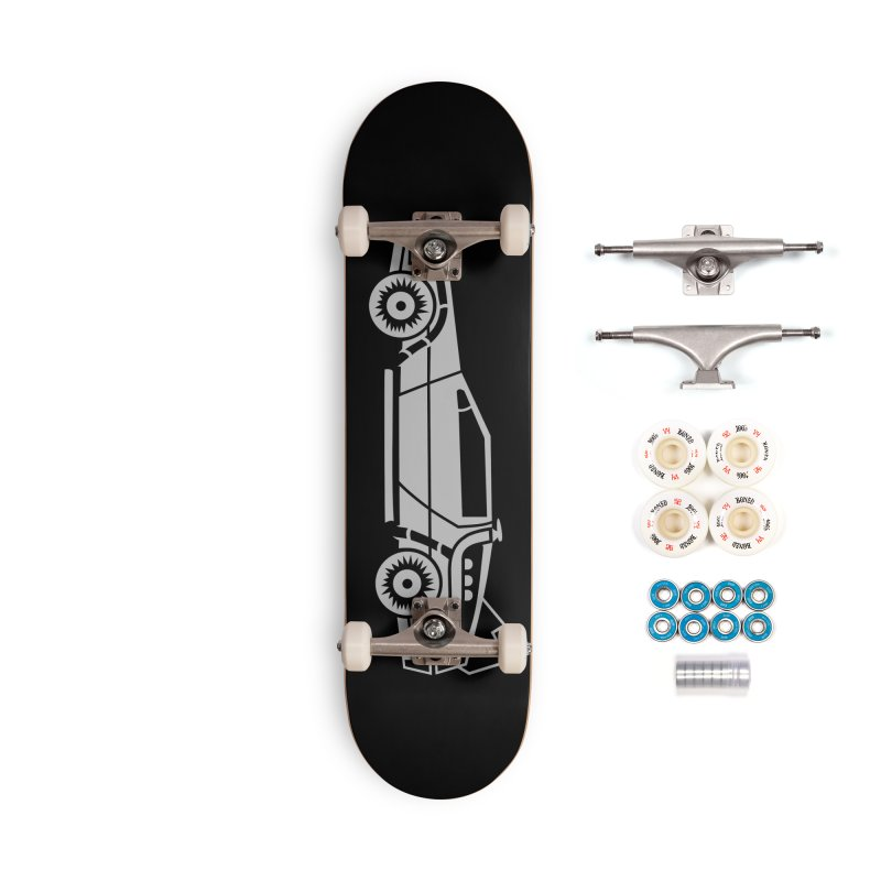 Delorean Accessories Complete - Premium Skateboard by Synner Design
