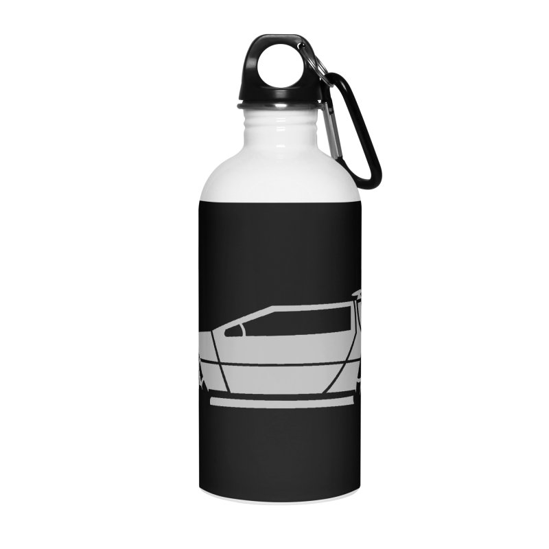 Delorean Accessories Water Bottle by Synner Design