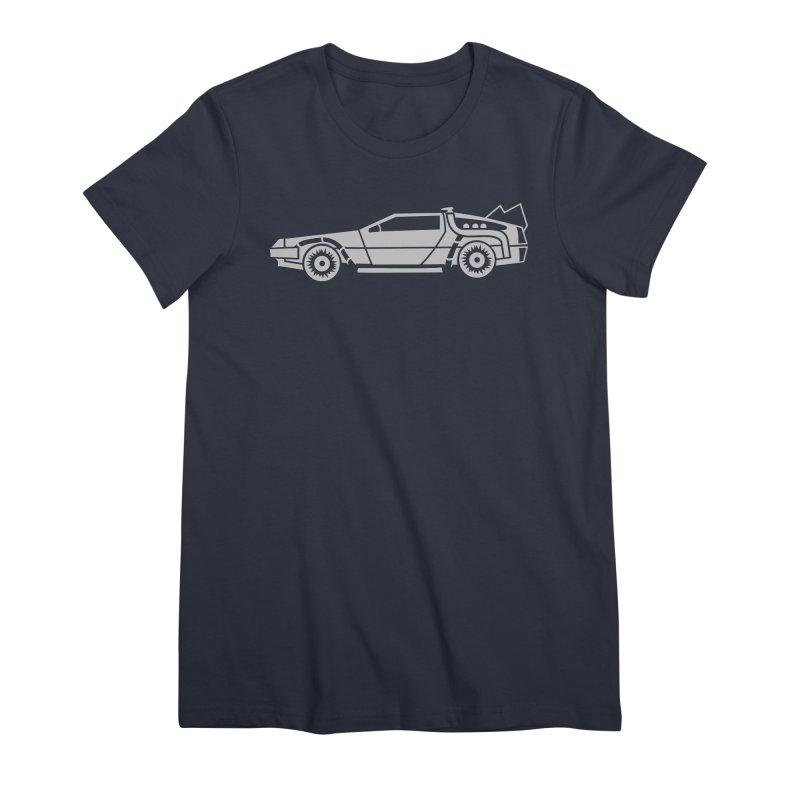 Delorean Women's Premium T-Shirt by Synner Design