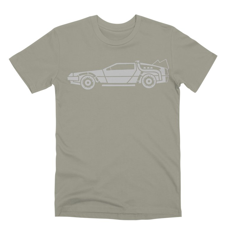 Delorean Men's Premium T-Shirt by Synner Design