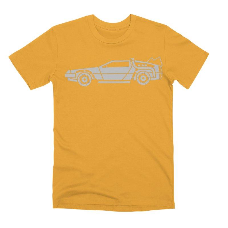 Delorean Men's Premium T-Shirt by Synner Design