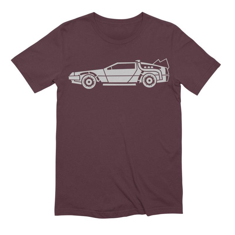 Delorean Men's Extra Soft T-Shirt by Synner Design