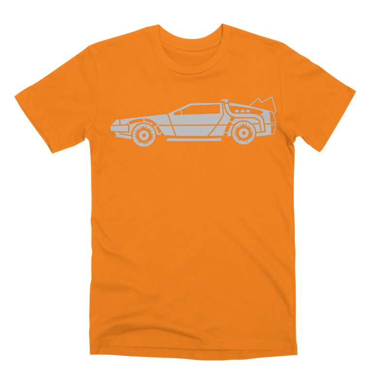 Delorean Men's T-Shirt by Synner Design