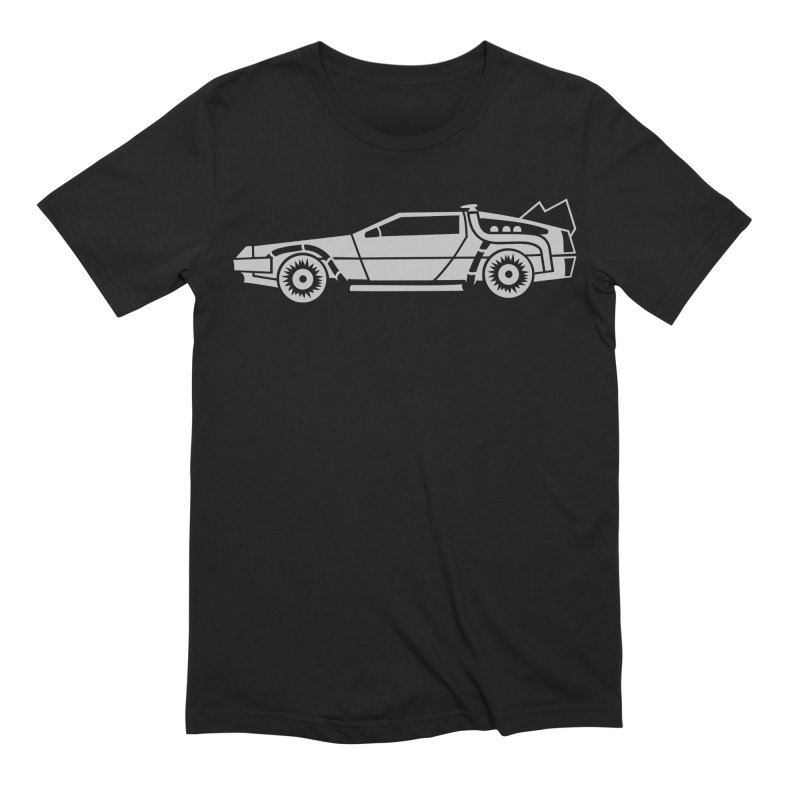 Delorean Men's Extra Soft T-Shirt by Synner Design
